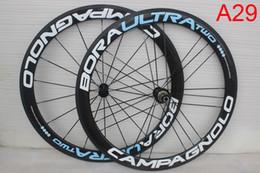 Wholesale Tubular Disc Wheels - 38mm 50mm Carbon Wheels Road Bike Wheelset UD  3k Matte 700c 25mm Tubular Clincher U shape road disc carbon wheels