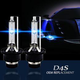 Wholesale Pink Hid Bulbs - AUTO CAR D4S D4C 35W 12V HID Xenon Light Source 4300K 5000K 6000K 8000K Car Headlights Xenon HID Bulb Lamp D4