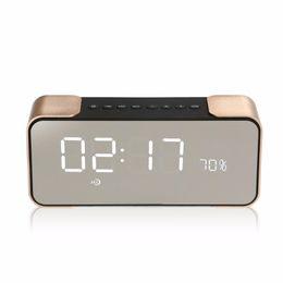 Wholesale Floor Stand Clock - PTH-305 Portable Bluetooth LoudSpeaker Wireless Stereo Music Sound Box Support FM Radio Line in TF Alarm Clock altavoz Speaker Free DHL