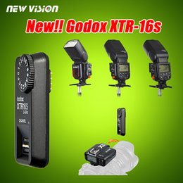 Wholesale Godox Trigger - Wholesale- Godox 2.4G Wireless XTR-16S Receiver for X1C X1N XT-16S Trigger Fit V850 V860