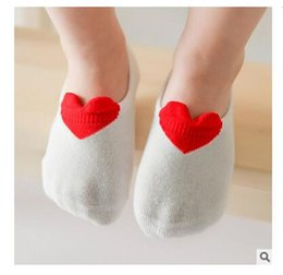Wholesale Invisible Child - Socks Summer Baby Kids 2017 Love Boys Girl Invisible Breathable Short Sock Cotton for Children Boy Spring 3 Styles DHL Free Shipping