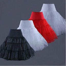 Wholesale swing skirt petticoat - 50s Swing Vintage Petticoat 60cm Retro Underskirt Rockabilly Tutu Fancy Party Skirt