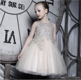 Robe de princesse pour enfants col rond Porter des filles de fleurs sans manches 61 Costumes de style européen Robe de princesse kid270 ? partir de fabricateur