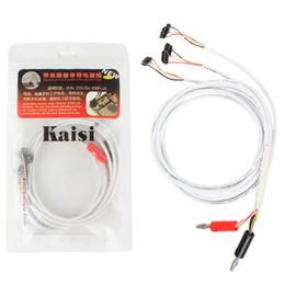 2019 separador de tela para celular Kaisi brand new profissional original dc fonte de alimentação de telefone cabo de teste atual para iphone repair tools pit_342