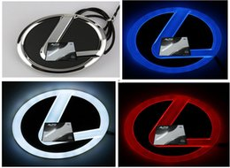 Wholesale Renault Badge - high quality 4D car led logo symbols badge emblem for Lexus Renault