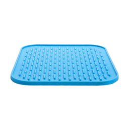 Wholesale Healthy Pads - Wholesale- HOT 22*16cm Healthy heat-insulated Pan Nonstick Silicone Baking Mats Pads Cooking Mat Oven Baking Tray Cushion Kitchen Tools