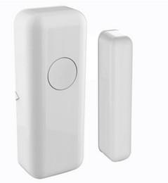 Wholesale Gsm Siren - Wholesale- New 433MHZ Wireless Home Security Alarm Door Window Sensor Detector for GSM PSTN Alarm host Siren