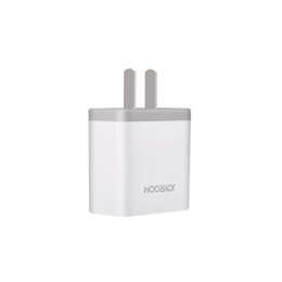 Wholesale Plug For Cellphone - JOYROOM US Plug Wall Chargers Bouble USB Cellphone Charger AC Power Adapter for iPhone 5 6 plus Samsung LG