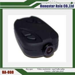 Wholesale Camera Av Out - 808 #18 Full HD 1080P car key camera mini hidden camera wide 120° AV out function