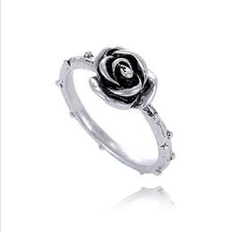 Charme unique pandora en Ligne-mode 925 silve accessoires unique rose Thaïlande argent sterling anneaux rétro compatible avec Pandora bijoux de charme pour les femmes