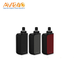 Wholesale Joyetech Ego Atomizer - Joyetech eGo Aio Box Mod Kit 2100mAh Battery Box with 2ml Capacity Atomizer Tank use BF SS316 0.6ohm MTL Core