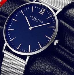 Wholesale Thinnest Waterproof Wrist Watch - Men Watches Top Brand Luxury 50m Waterproof Ultra Thin Date Clock Male Steel Strap Casual Quartz Watch Men Wrist Sport Watch