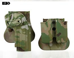 Wholesale Holster Tactical M92 - Tactical gun holster for M92 M95 holster airsoft gun hunting AT camouflage camo