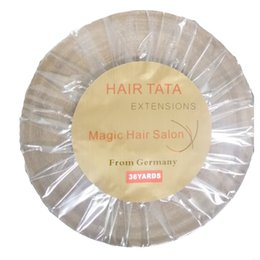 Tenir 4 mois cheveux TA TA bande 36 mètres de long temps preuve de l'eau super qualité bande bleue extension de cheveux bande ? partir de fabricateur