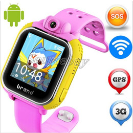 Wholesale Apple Positions - Kid GPS Location Smart Watch Q730 Phone Positioning Fashion Children Watch 1.54 Inch Color Touch Screen SOS Smartwatch with Camera PK Q50
