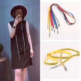 Wholesale Men S Tie Paisley - The new canvas belt belt belt all-match tie Long Dress Lady Yaolian micro belts wholesale