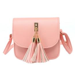 Wholesale Candy Bag Female - Wholesale-Fashion 2016 Small Chains Bag Women Candy Color Tassel Messenger Bags Female Handbag Shoulder Bag Women Bag