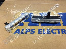 original-leistungsrelais Rabatt Großhandels- [SA] ALPS 4,5 cm Schiebepotentiometer Doppel A20KX2 10MM Welle - 10PCS / LOT