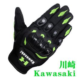 gs motocicli Sconti Nuovo modello kawasaki Ciclismo Protezioni / Guanti da ciclismo / moto fuoristrada guanti / guanti da corsa / guanti sportivi da esterno antivento g-2