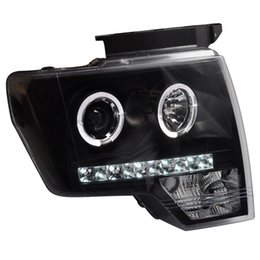 Ford führte scheinwerfer online-FOR Xiushan gewidmet dem Ford Raptor F150 Objektiv LED Angel Eye mit geänderter Scheinwerferbaugruppe 08-12