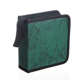 Wholesale Dj Cover - Wholesale 1pcs CD DVD Holder 40 Disc DJ Storage Cover Box Case Disc Organizer Carry Bag Protect-Green