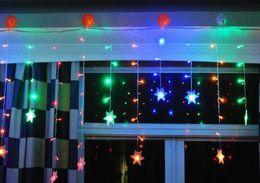 Wholesale White Led Christmas Lights 96 - 96 LED Wedding Light icicle Christmas Light LED String Fairy Light Bulb Garland Birthday Party Garden Curtain Decor