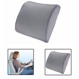 Wholesale Lumbar Back Support Chair - Memory Foam Lumbar Back Support Cushion Pillow Home Car Auto Office Seat Chair
