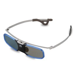 Wholesale Dlp Link Active Shutter 3d - Wholesale- RX30S 3D Active DLR-link Shutter Virtual Reality Glasses for Optama Viewing distance up to 20m DLP LINK optical