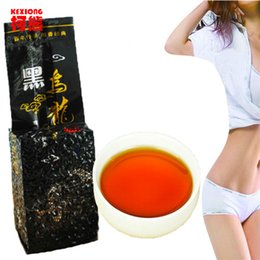 Wholesale Fat Burning - C-WL001 Fast Weight Loss 250g Black Oolong Slimming Tea Oil Cut Black Oolong Slimming Products Burn Fat baked tieguanyin