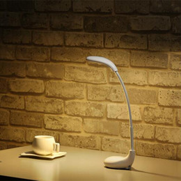 Wholesale Learn Lamp - Table lamp, LED reading lights, golf club shape, charge once can be used for 20 hours, to protect eyesight, students must learn.