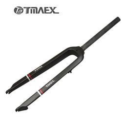 "Wholesale Mtb Bicycle Forks - TMAEX- Newest 26""  27.5"" Inch Mountain Bike Full Carbon Front Fork MTB Bicycle Disc Brake Carbon Fork 26er  27.5er"