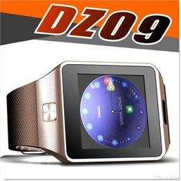 Wholesale Compatible Systems - DZ09 Smart Watch Compatible IOS and Android System Support SIM TF Card Smart Wristwatch Heart Rate Sync