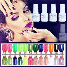 All'ingrosso-5ML MINI PACK 2015 Brand New Gelpolish Soak Off UV Gel Polish BASE TOP COAT Primer Nail Art Color Foundation da