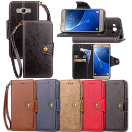Wholesale Premium Leather Cases - Premium PU Leather Flip Fold Wallet Case with [ID&Credit Card Slot] for Samsung Galaxy J2 J3 J5 J7 J510 J710 Prime 2016 2017