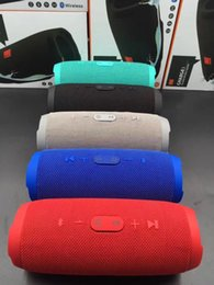 Wholesale Wireless Speakers China - New Charge 3 Bluetooth Speaker Waterproof Portable Outdoor Subwoofer Speaker HIFI Wireless Speakers For PC cellphones High Quality