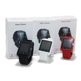 Wholesale Watch Cell Phone Inch - U8 Smart Watch Bluetooth Altimeter Anti-lost 1.5 inch Wrist Watch U Watch For Smart phones iPhone Android Samsung HTC Sony Cell Phones