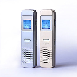 Wholesale Micro Digital Voice Recorders - Wholesale- Mini Voice recorder+MP3 player 8GB USB Disk Dictaphone Build-in speaker Smart Phone Micro USB Slot Digital Voice recorder