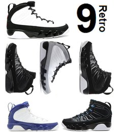 Wholesale Basketball Bryant - Air Retro 9 BG GS SPACE JAM 9S BRED BLACK BOTTOM PHOTO BLUE COUNTDOWN PACK BARONS KOBE BRYANT PE ANTHRACITE Wholesale Basketball Shoes
