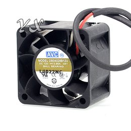 Wholesale 4cm Fan - New 4CM 4028 0.66A 12V fan violence server 1U DB04028B12U 40*40*28mm