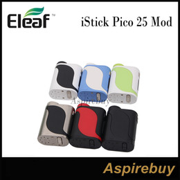 Wholesale Big Screen Wholesale - Eleaf iStick Pico 25 Mod 85W Pico 25 TC Box Mod 2A Quick Charge Big 0.91-Inch Screen with Optional Interfaces Compact Stylish 100% Original