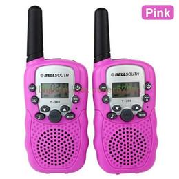 icom uhf radios Rabatt Neue Marke bellsouth 2Pcs (ein Paar) Walkie Talkie Reisen T-388 0,5W UHF Auto Multi-Kanäle 2-Wege-Radios Sprech