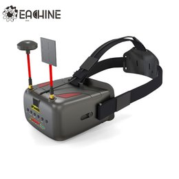 Wholesale Motor Dvr - New Version Eachine VR D2 Pro 5 Inches 800*480 40CH 5.8G Diversity FPV Goggles w  DVR Lens Adjustable