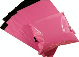 Wholesale Mail Wire - Wholesale- Pink Color Envelope mailing bag  Courier Mailer Express Bag