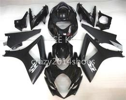 Wholesale Suzuki Gsxr K7 - 5 free gifts New ABS motorcycle Fairing Kits 100% Fit For SUZUKI GSXR1000 K7 2007-2008 GSXR 1000 K7 07-08 black Article no.259