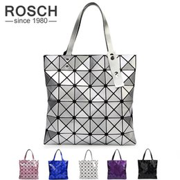 Wholesale Top Brand Bag Wholesale - Wholesale- Japanese Women BAO BAO Bag Geometry Style Luxury Brand Ladies Shoulder Bags Top Quality PU Leather Baobao Casual Handbag Totes