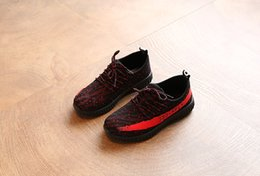 Wholesale li ning shoes - 2017 new Kanye West Season 3 SPLY 350 Boost V2 Boys Girls Running Shoes Boost 350 V2 Kids Athletic Shoes Black White Grey Orange Zebra