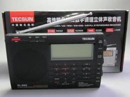 2019 ricevitori a corto raggio Radio a banda larga World AM / FM / LW / Air Shortwave portatile di fama mondiale Tecsun PL-660 con ricevitore digitale a banda laterale singola sconti ricevitori a corto raggio