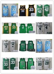 Wholesale Indiana Jersey - Basketball Boston Indiana State Signature Jersey Signed Men Youth Celtice 4 Isaiah Thomas 33 Larry Bird 20 Ray Allen 42 Al Horford throwback