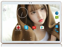 Wholesale Chinese 32g Tablet Pc - Wholesale- Phone Call 10 Inch Tablet pc Android 5.1 Original 3G Android OCTA Core 4GB RAM 32GB ROM WiFi FM IPS LCD 4G+32G 4G LTE Tablets Pc
