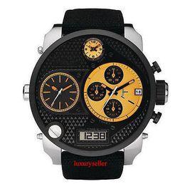 Wholesale Folding Bad - New 7234 Chronograph Bad Ass Daddy XL Schwarz Watch